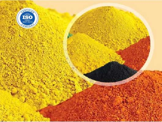 Micronix IronOxide Yellow 3920 , micronized iron oxide yellow 3920 .